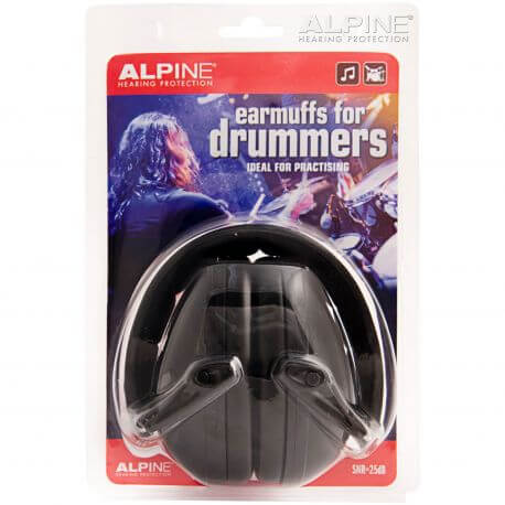 Protectores Auditivos Alpine Earmuffs Para Bateristas Snr-25