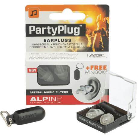 Protectores Auditivos Alpine Partyplug