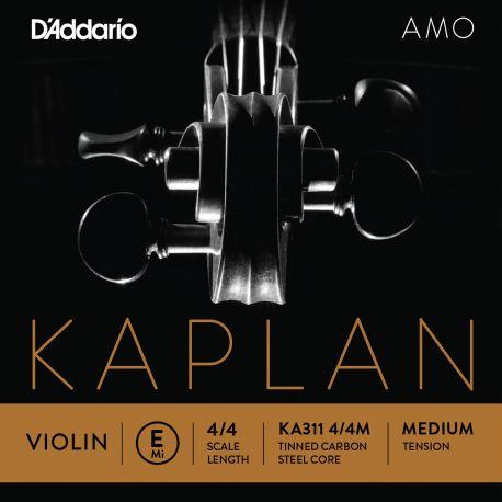 Cuerda 1ª Mi Violín D'Addario Kaplan Amo KA311 4/4 Media