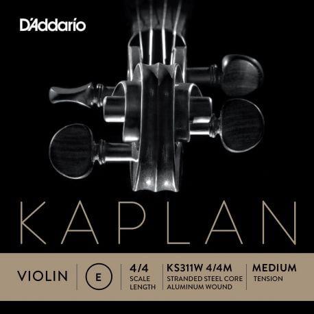 Cuerda 1ª Mi Violín D'Addario Kaplan Solutions K311W Non-Wishtling