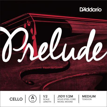 Cuerda 1ª La Violoncello D'Addario Prelude J1011 1/2