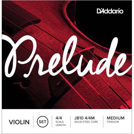 Juego de Cuerdas Violín D'Addario Prelude J810 4/4
