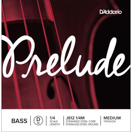 Cuerda 3ª Re Contrabajo D'Addario Prelude J612 1/4