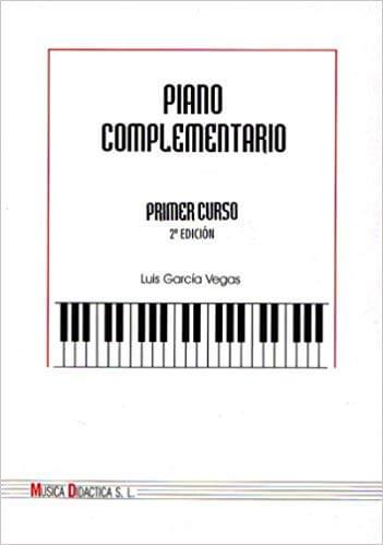 Piano Complementario 1º. García Vega