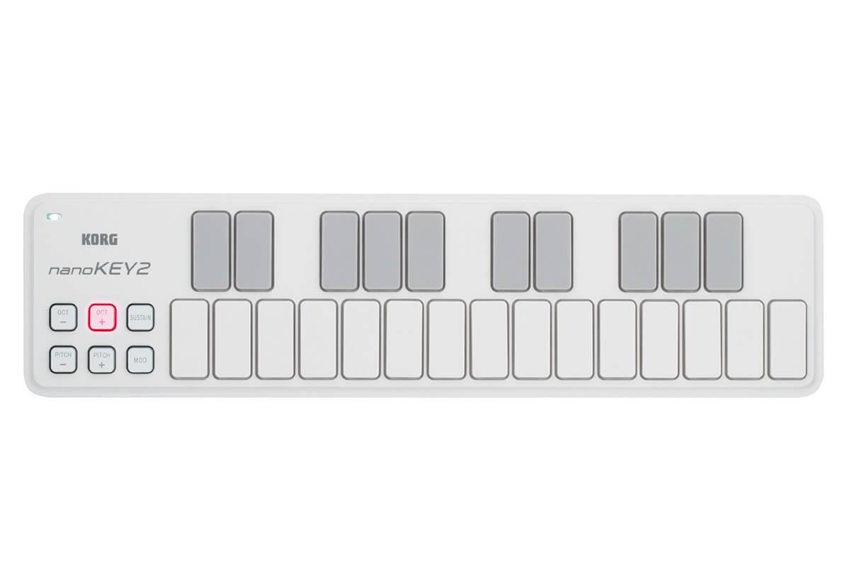 Controlador Midi Korg Nanokey 2 White
