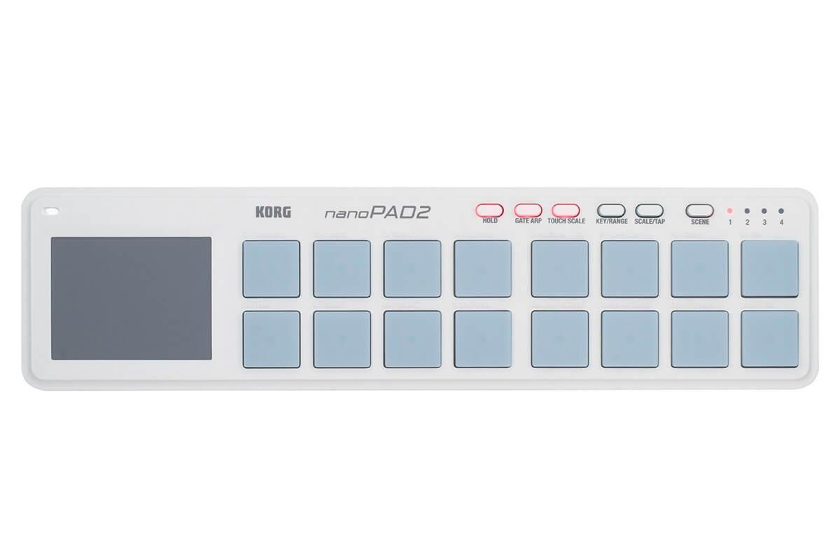 Controlador Midi Korg Nanopad 2