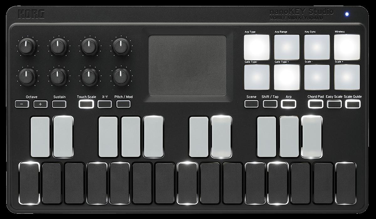 Controlador Midi Korg Nanokey Studio