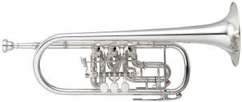 Trompeta Yamaha Ytr-948FFMG Plateada