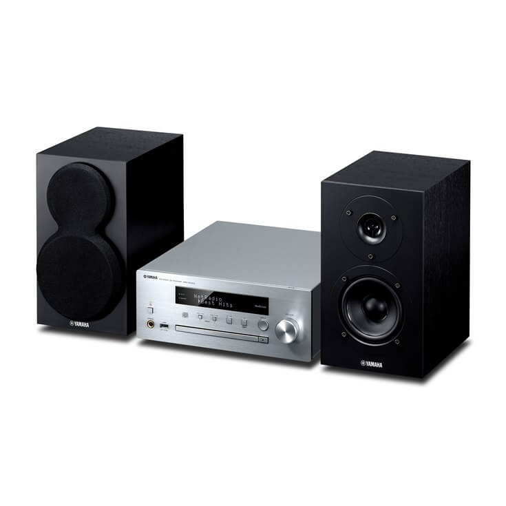 Musiccast Yamaha Mcr-N470D Silver/Negro