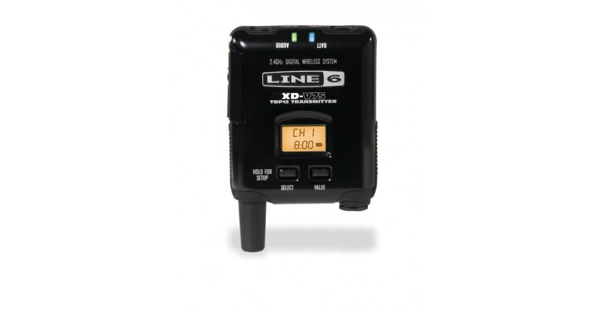 Transmisor De Bolsillo Line6 V75Bp