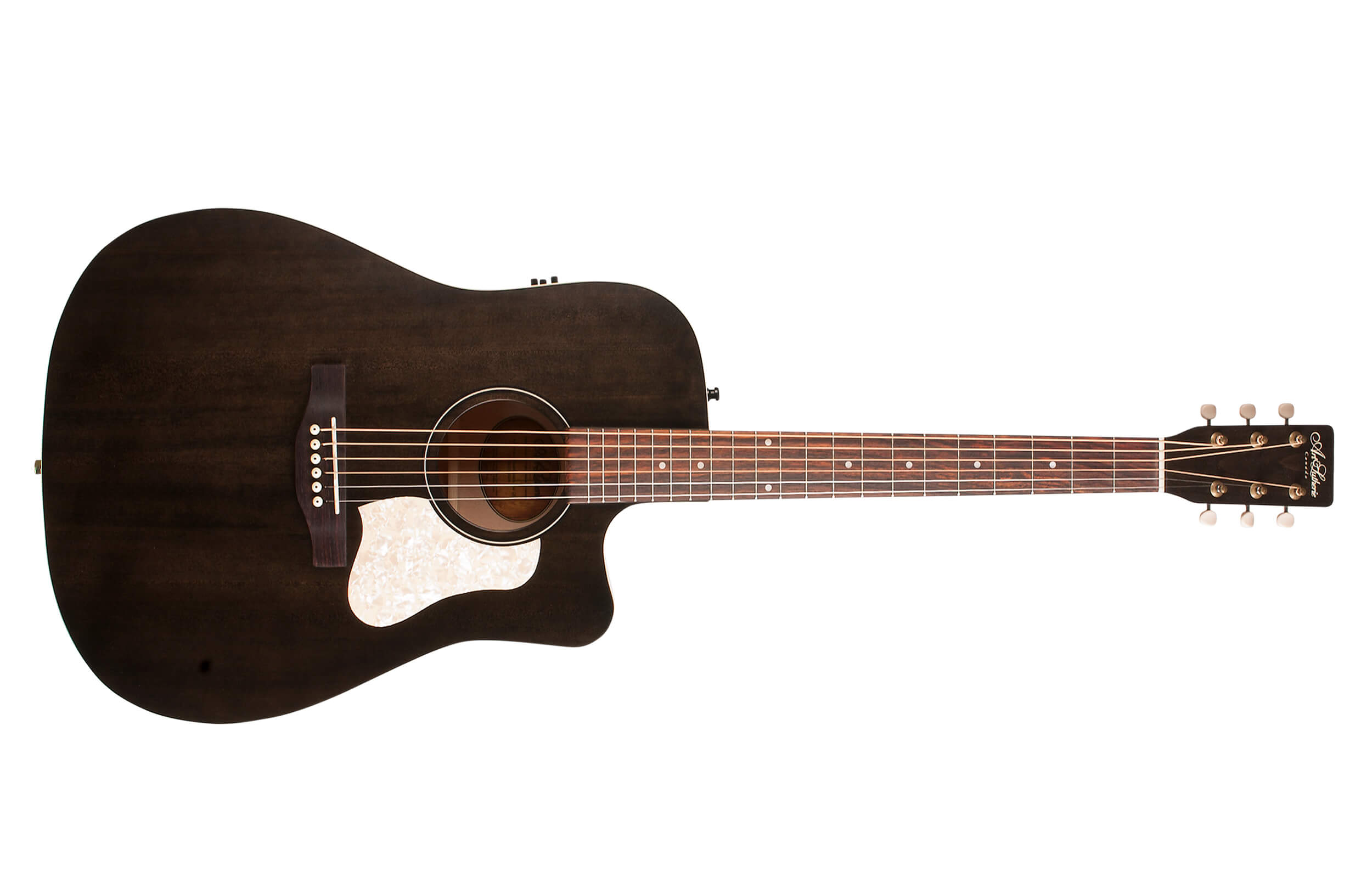 Guitarra Art & Lutherie Americana / Faded Black CW Q1T