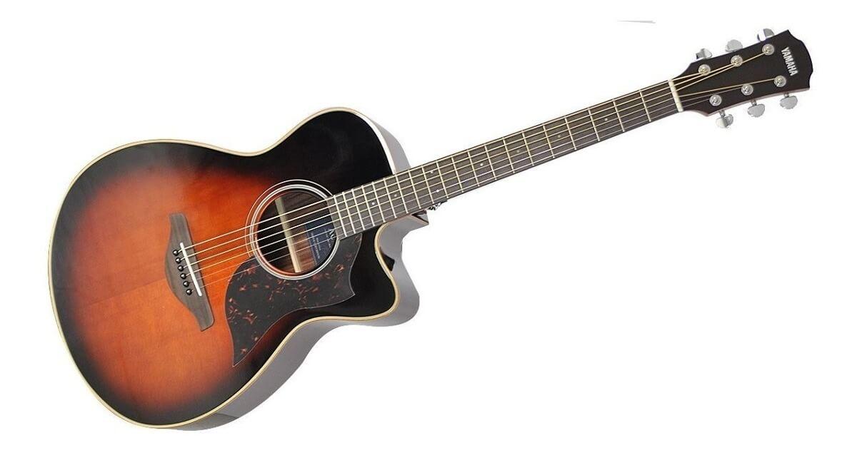 Guitarra Electroacústica Yamaha Ac1R II Tobacco Brown Sumbur