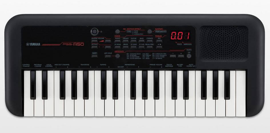Teclado Portátil Yamaha PSS-A50