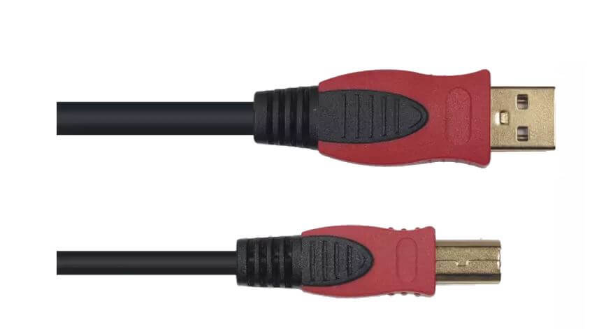 Cable Usb Yellow Cables Usb 5M