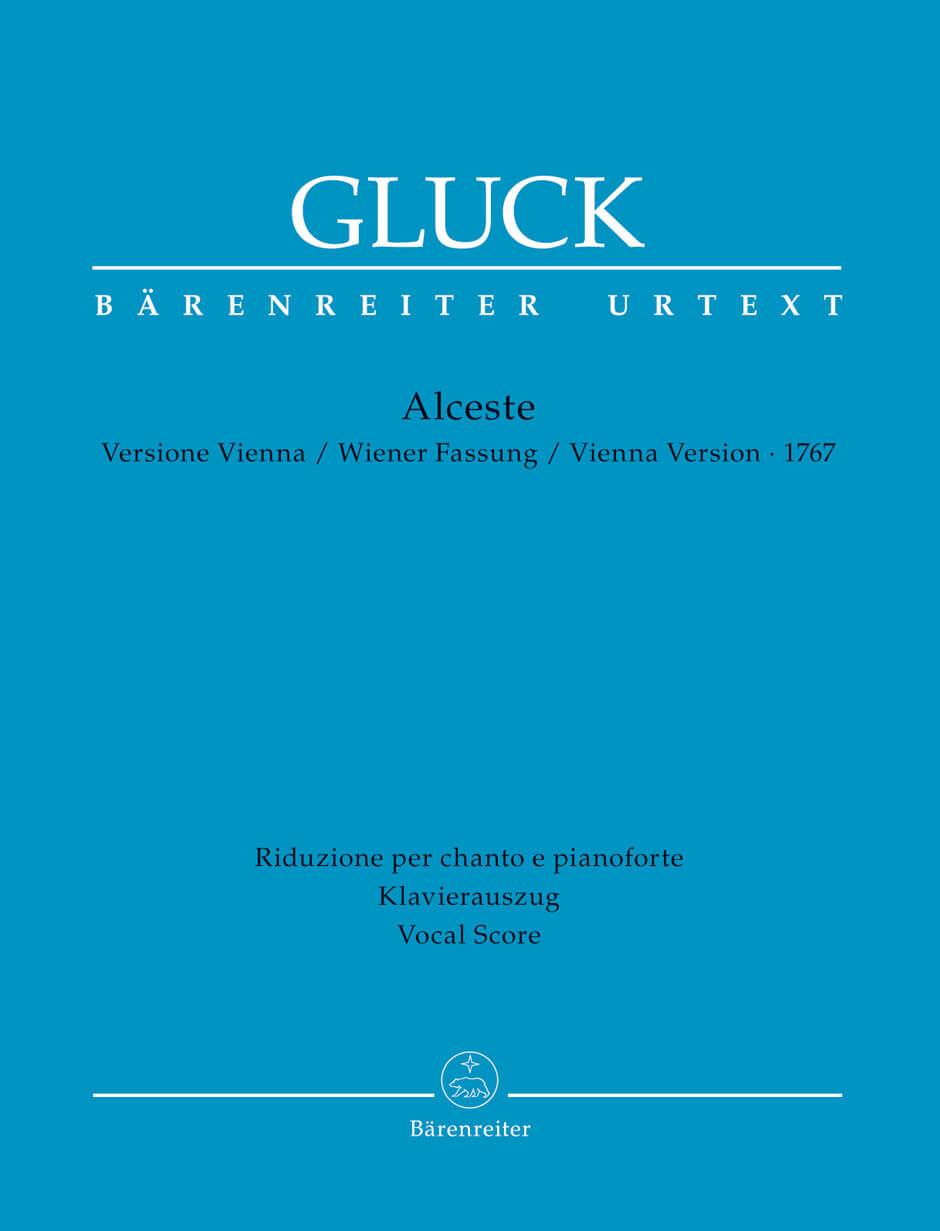 Alceste Tragedia per musica in three acts Vienna version 1767. Voz y piano. Gluck