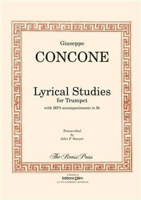 Lyrical Studies trumpet Concone