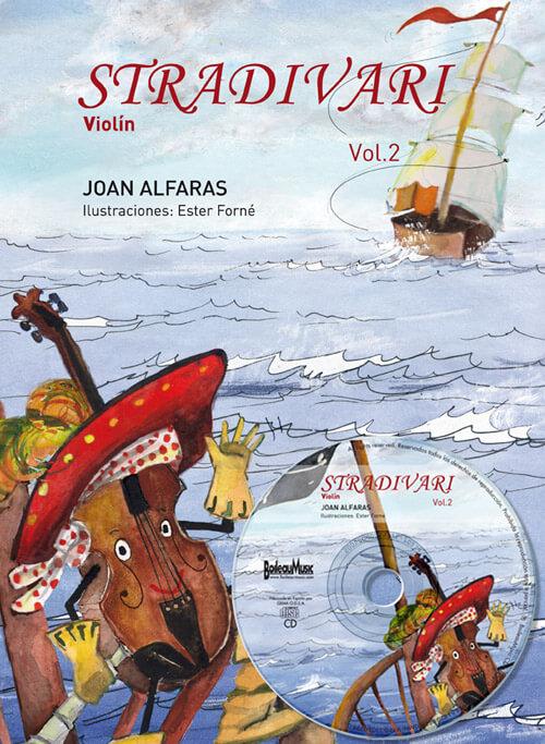 Stradivari violín Vol. 2 +CD
