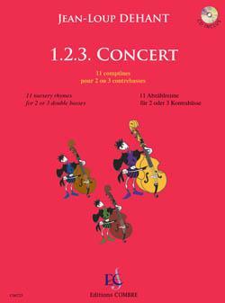 1.2.3. Concert. 2 or 3 Double Basses. Dehant +CD