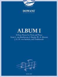 Album I for Viola and Piano + CD