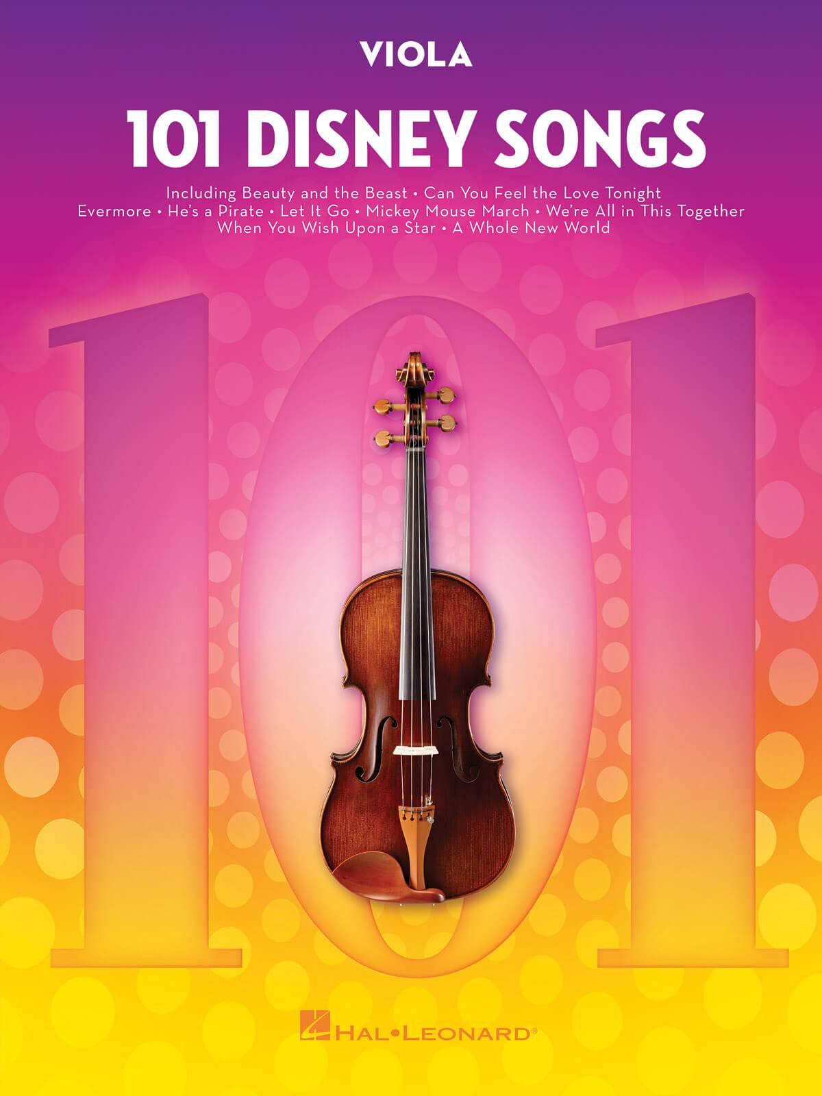 101 Disney Songs. Viola