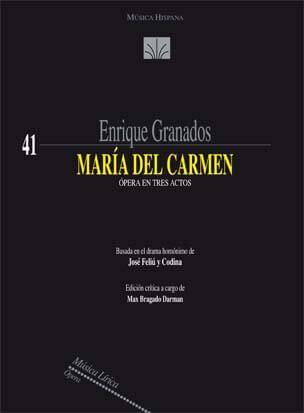 Maria del Carmen. Orquesta. Granados