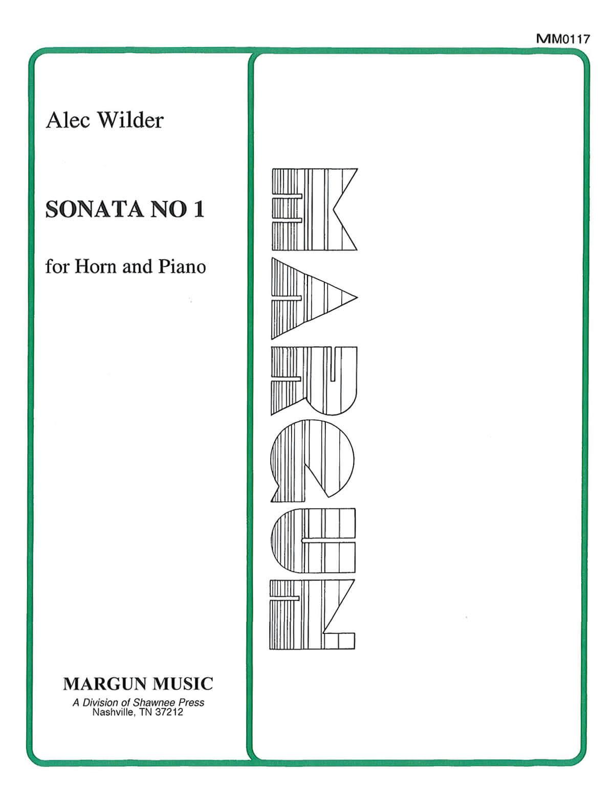 Sonata Nº1 Trompa y piano. Wilder