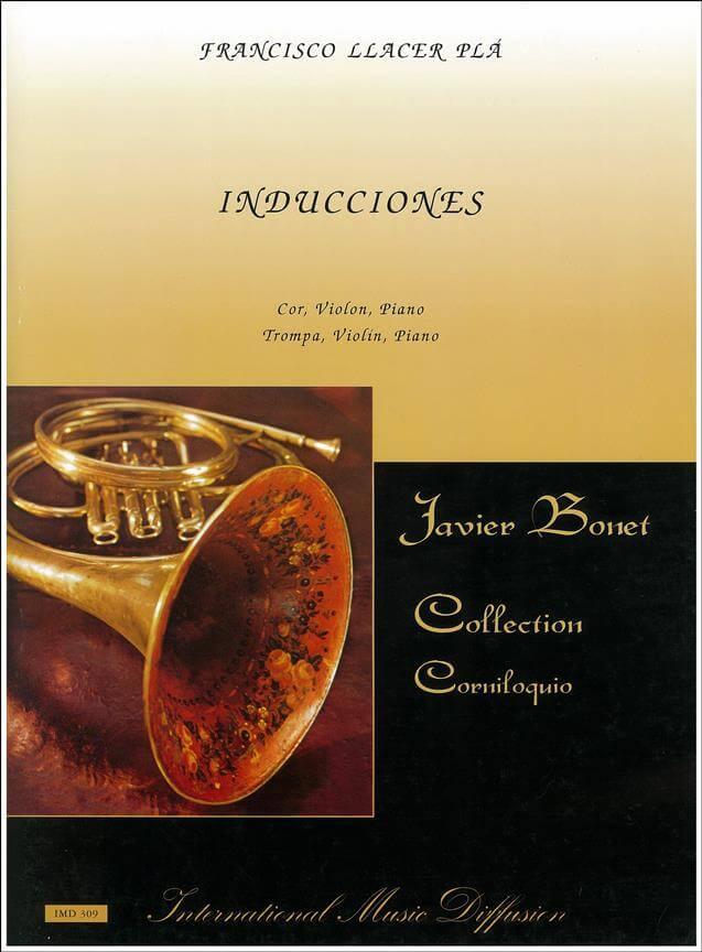 Inducciones. Violín, trompa y piano. Llacer Plá