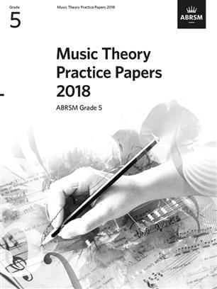 Music Theory Past Papers 2018 ABRSM Grade 5