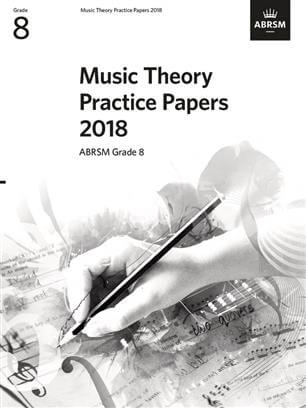 Music Theory Past Papers 2018 ABRSM Grade 8