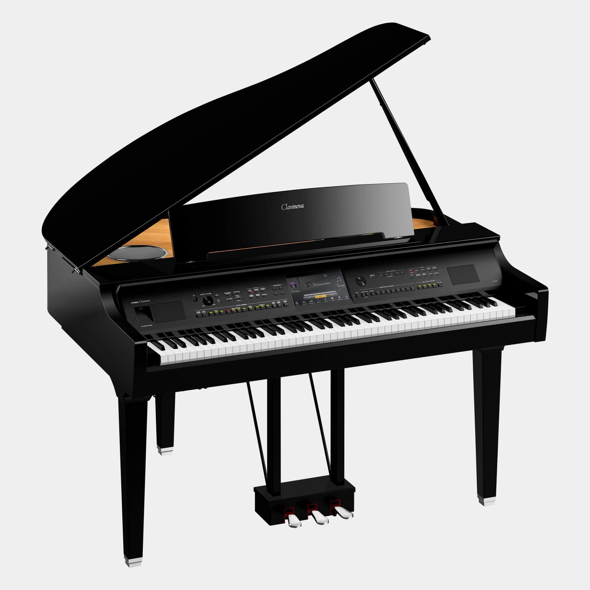 Pack Piano Digital Yamaha CVP-809GP con banqueta y auriculares
