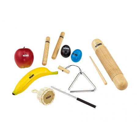 Set Instrumentos Nino Percussion Ninoset4
