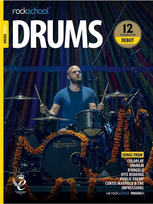 Rockschool Drums. Debut 2018