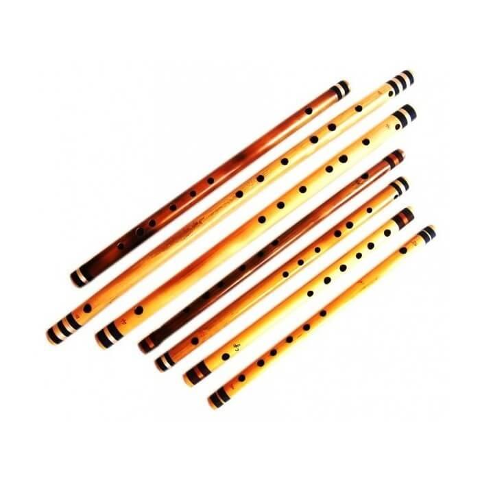 Flauta India Etnian Bansuri Profesional 58Cm