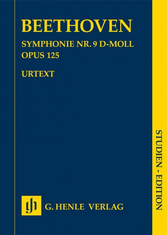 Symphony no. 9 d minor op. 125 . Bolsillo. Beethoven