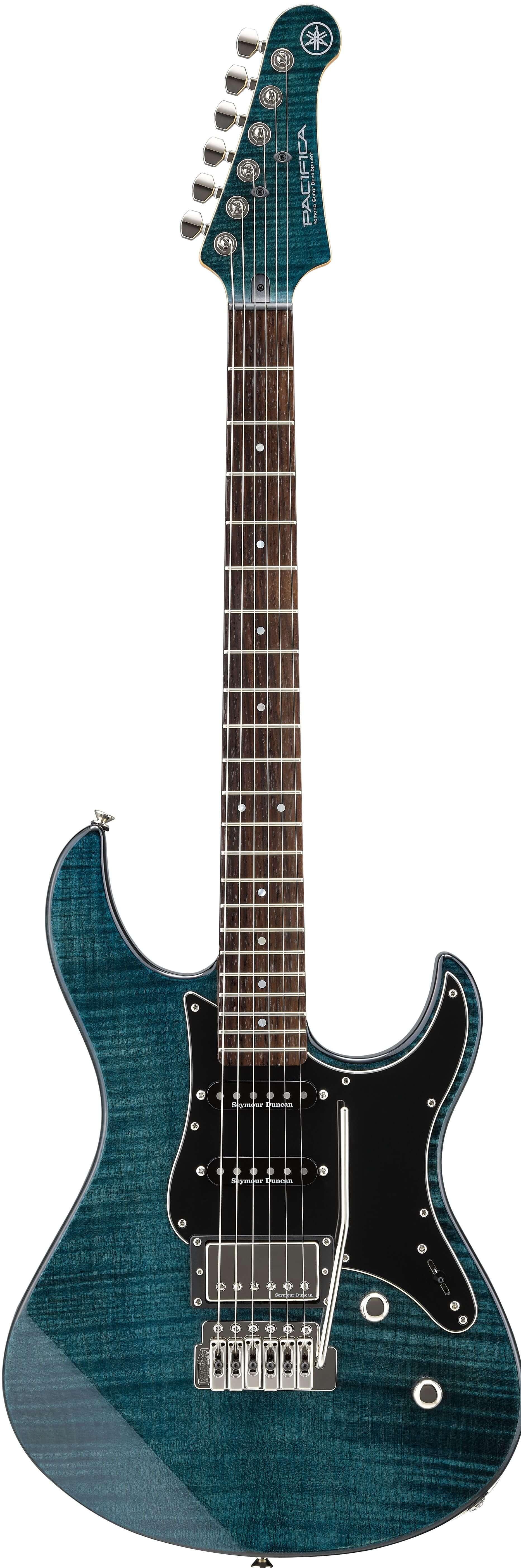 Guitarra Eléctrica Yamaha Pa612VIIFMIDB Indigo Blue
