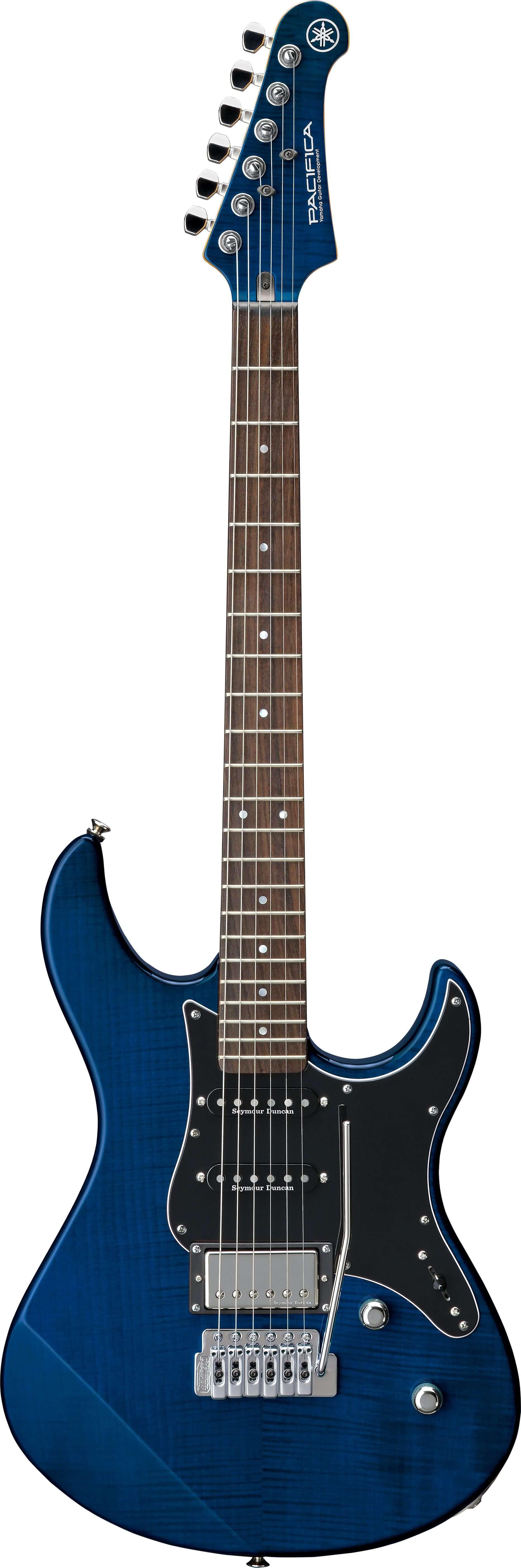Guitarra Eléctrica Yamaha Pa612Viifm Translucent Blue