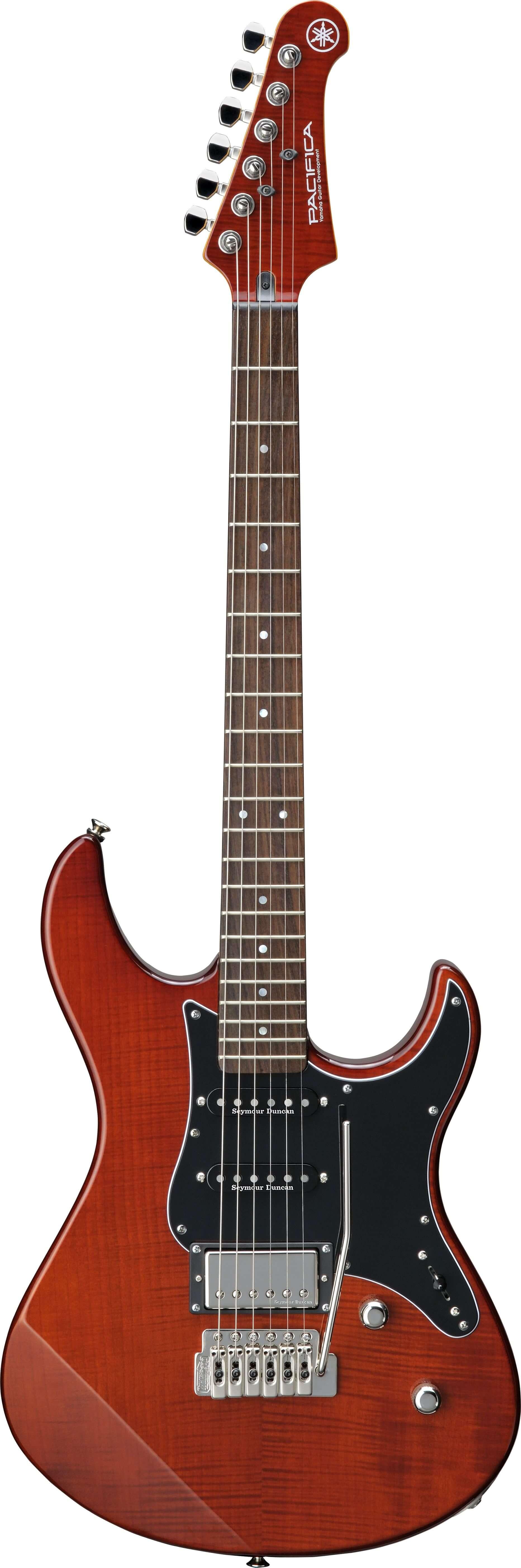 Guitarra Eléctrica Yamaha Pa612Viifm Root Beer Special