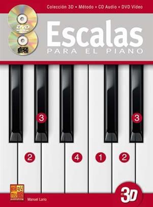 Lario Escalas Piano +2 cds