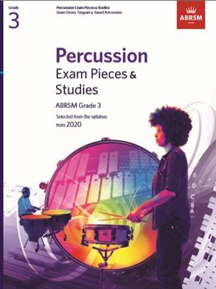 Percussion Exam Pieces & Studies, ABRSM Grade 3