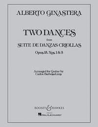 2 Dances op. 15 Guitarra .Ginastera