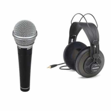Pack microfono y auriculares R21 + SR850 Samson