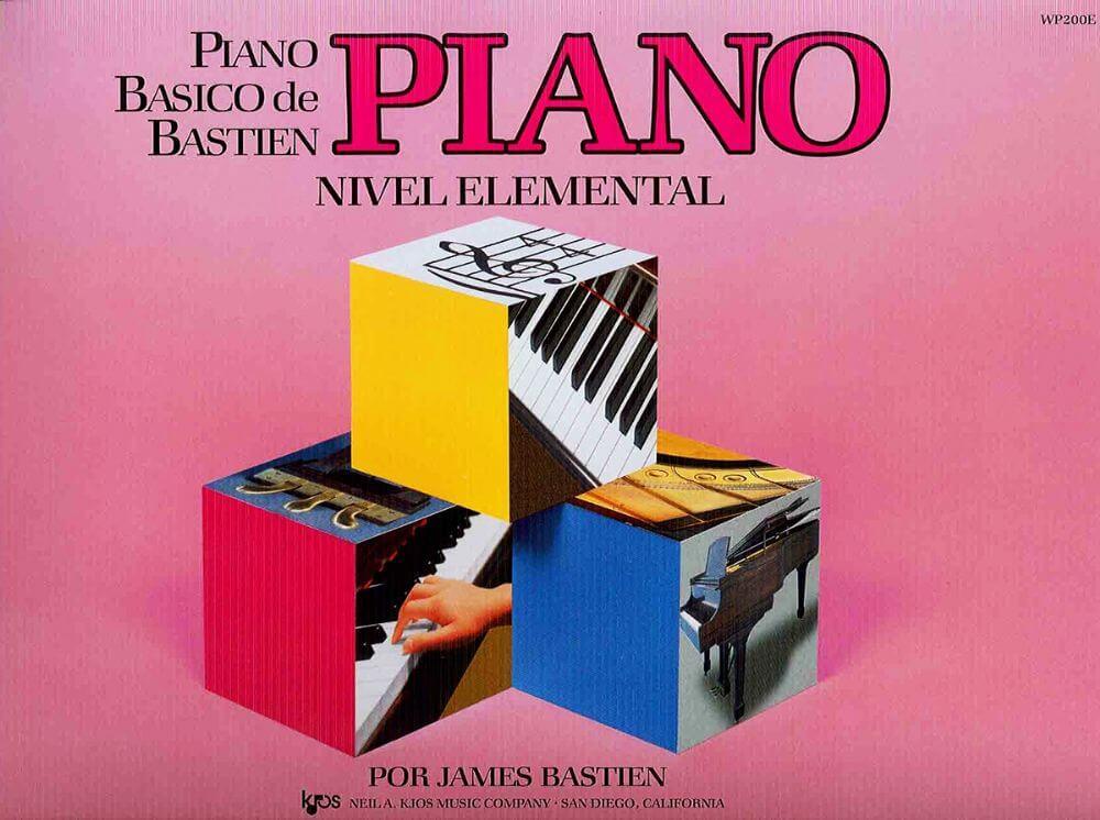 Piano Basico de Bastien Nivel Elemental