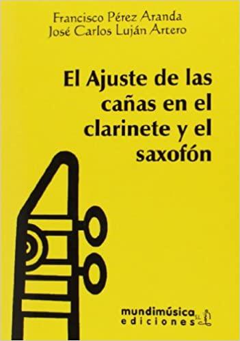 El ajuste de las cañas en el clarinete y el saxofón