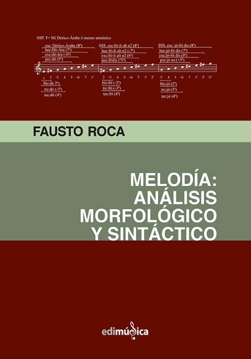 Melodia: Analisis morfológico y sintáctico. Roca