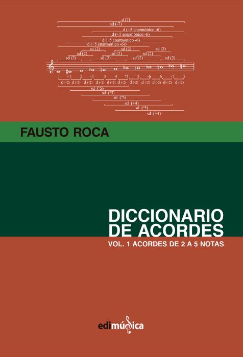 Diccionario De Acordes. Vol.1  Roca