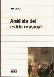 Análisis Del Estilo Musical. Jan LaRue