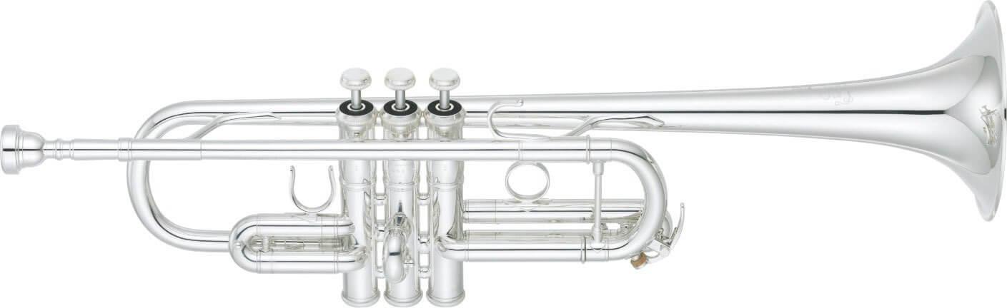 Trompeta Yamaha Ytr-9445Chs Plateada.