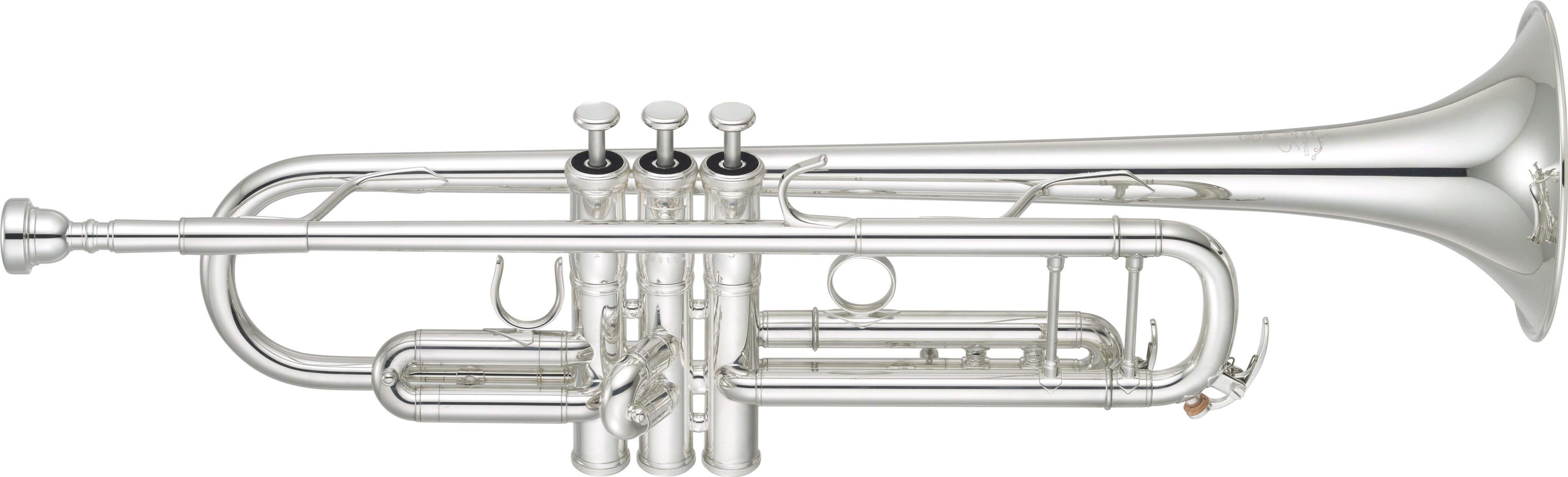 Trompeta Yamaha Ytr-8345S Plateada. Unidades limitadas con Silent Brass de regalo