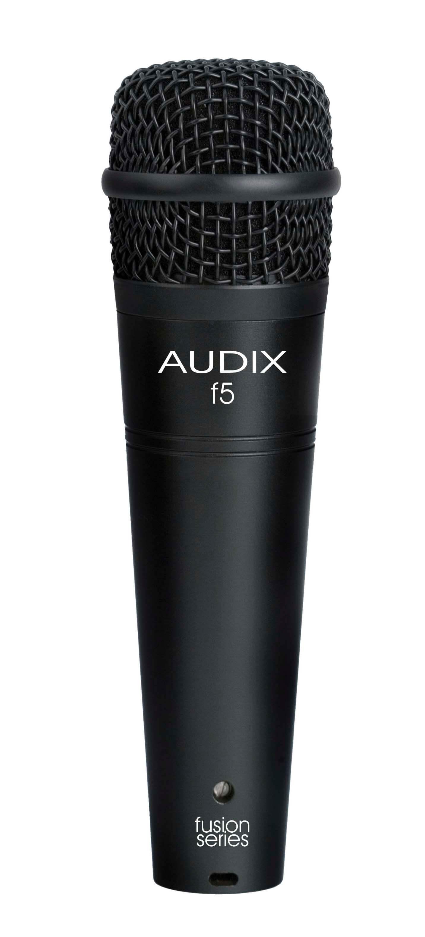 Micrófono dinámico de instrumento Audix F5