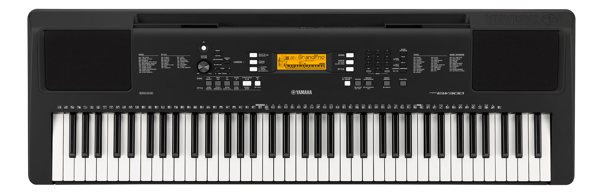 Teclado Portátil Yamaha PSR-EW300